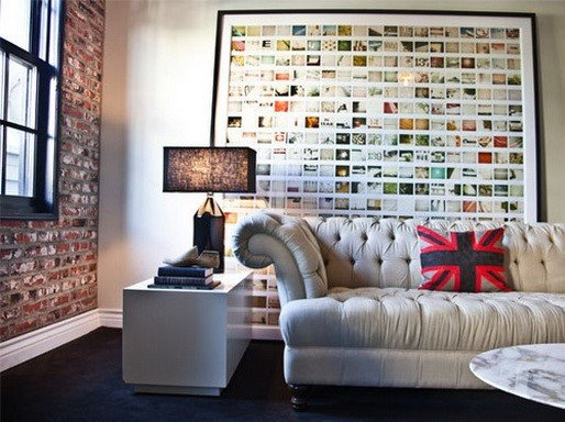 17 Creative Ways To Display Pictures On Your Walls_13