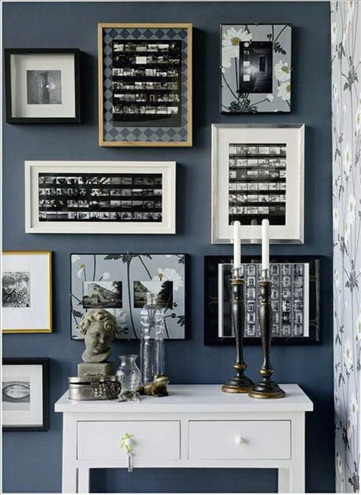 17 Creative Ways To Display Pictures On Your Walls_15