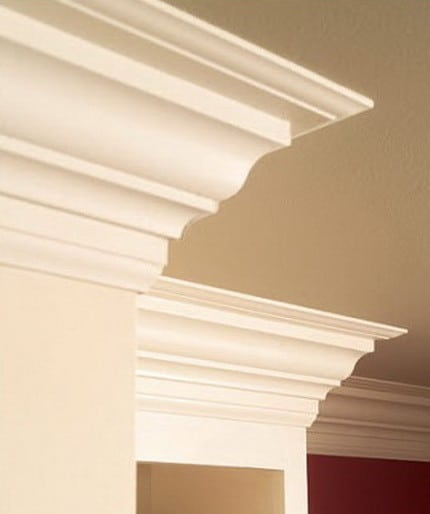 Amazingly genius diy ideas 32 project pictures for Adding crown molding to existing kitchen cabinets