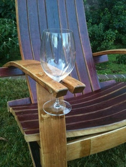 Chair with Wine Holder