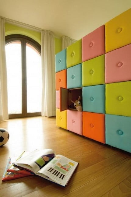 Awesome Colored Wall Storage Box Bins