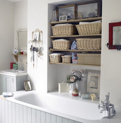 53 bathroom organizing and storage ideas photos for Organizing ideas for small bathrooms