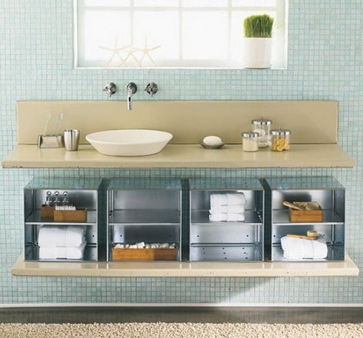 Bathroom organizing storage ideas 01