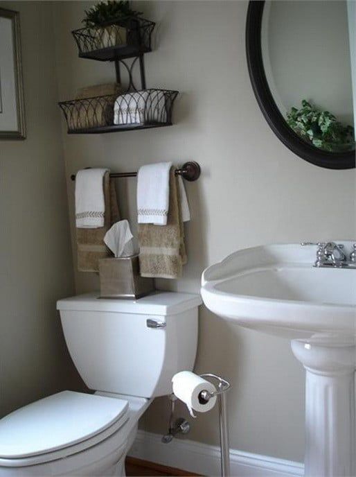 Pin by amy braxton on next house ideas and must haves Bathroom organizing ideas
