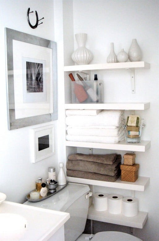 Amazing Cool Bathroom Storage Ideas
