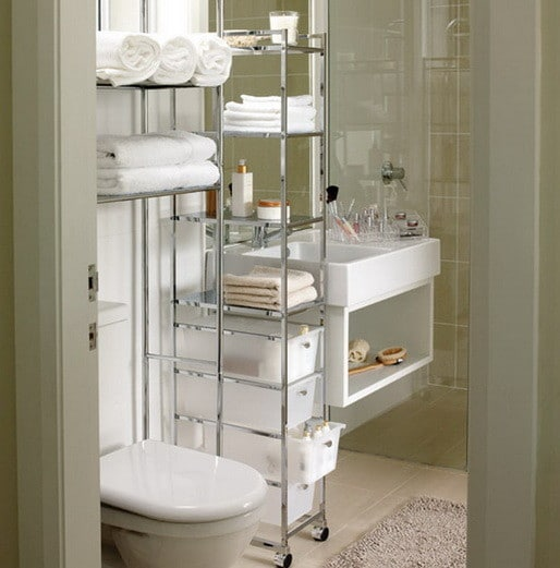 53 bathroom organizing and storage ideas photos for for Bathroom organizers