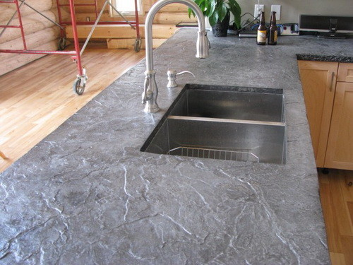 Concrete_Countertop_Ideas_01 Replace Kitchen Countertop