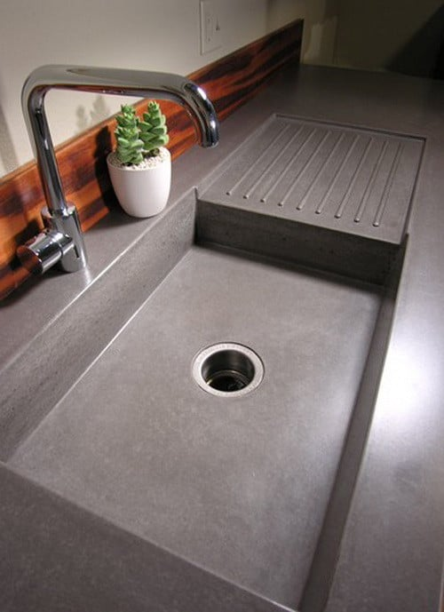 Concrete Countertops : Concrete Countertop Ideas and Examples - Part 1 of 2 Pictures ...