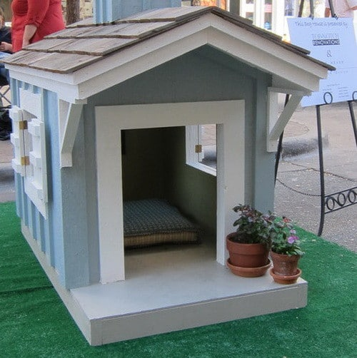 Dog house designs images galleries for Creative home designs