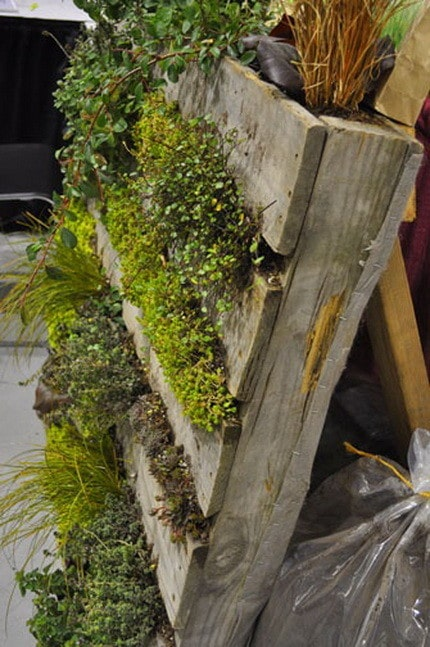 Great up-cycle pallet idea