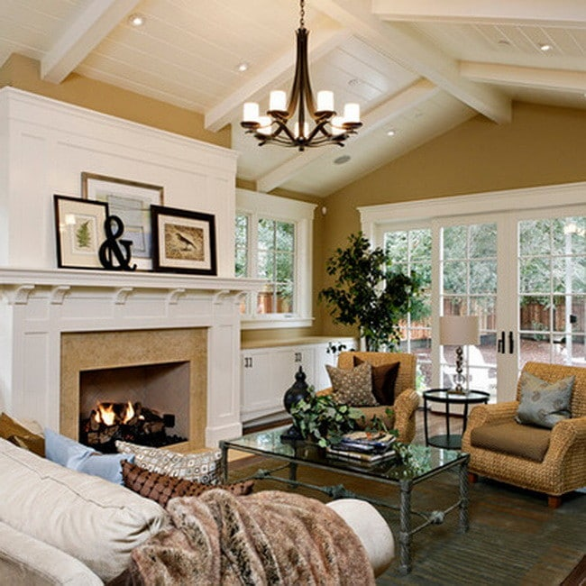 Furniture Layout Family Room With Fireplace