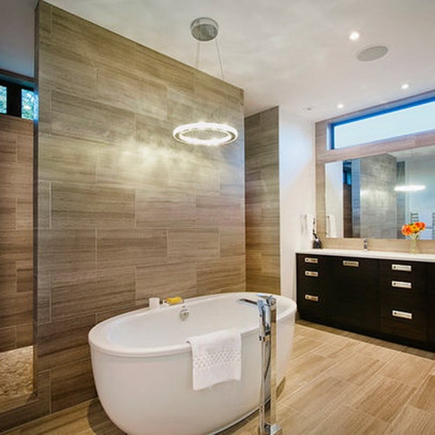 Beau No Expense Was Spared When Renovating This Bathroom