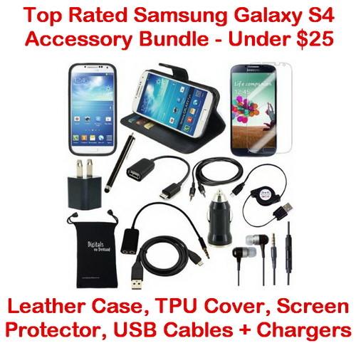 best samsung galaxy s4 accessory bundle