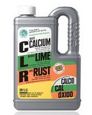 clr - calcium lime rust remover
