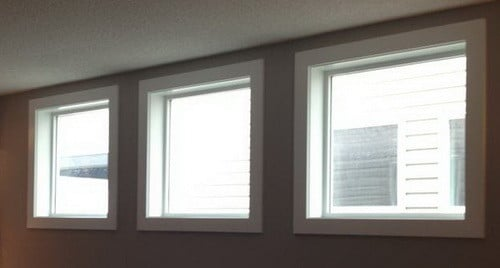 How to make your own diy cornice window treatment for for Window treatments for less