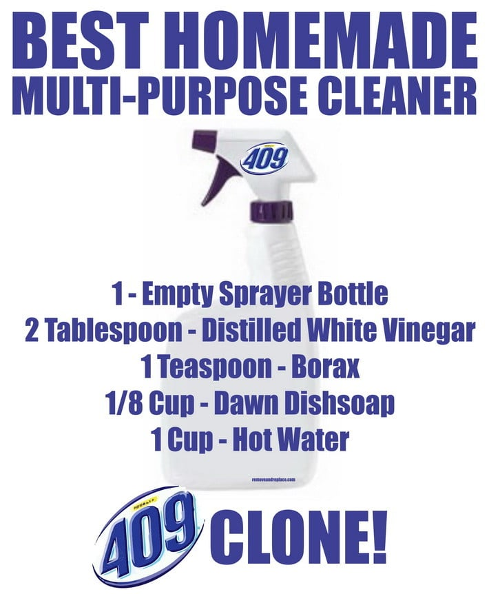 Best Homemade Multi Purpose Cleaner