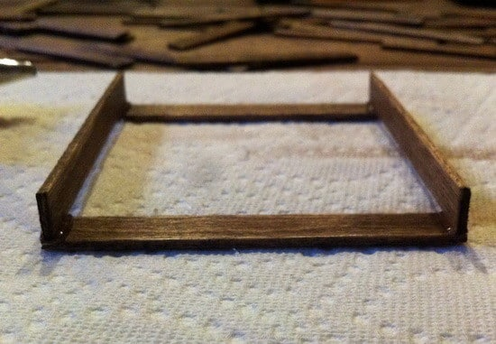 how to make a mini pallet coaster for your pallet coffee table