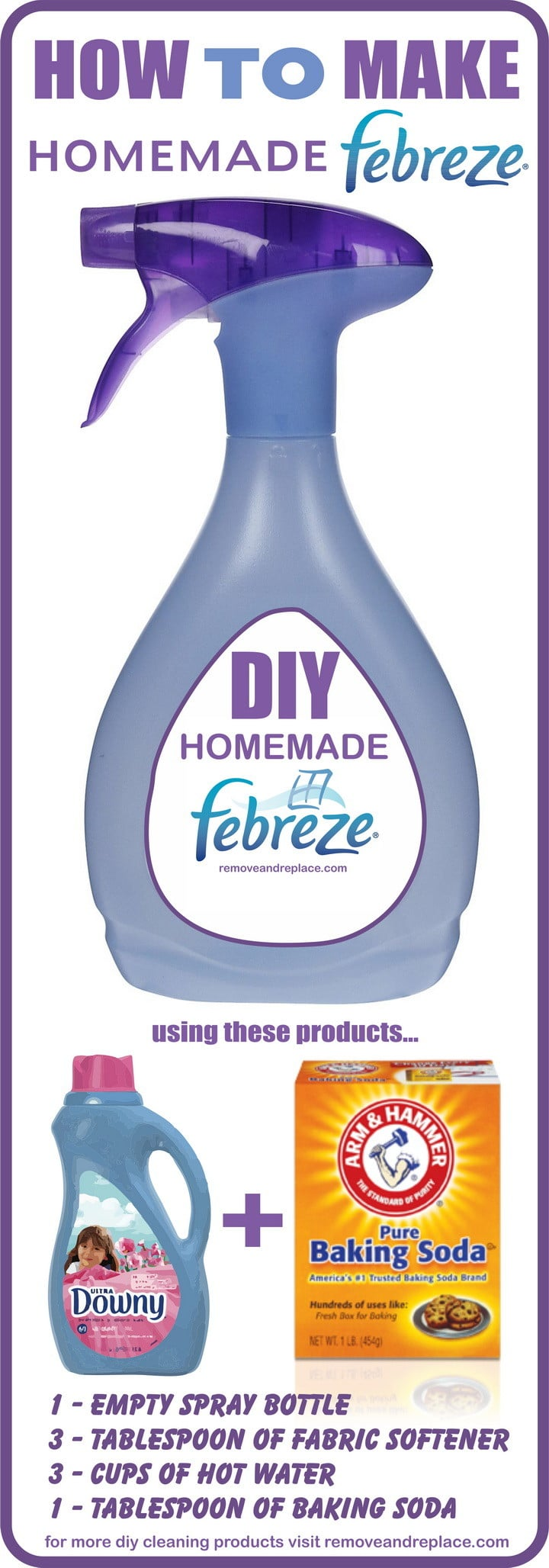 Diy Air Freshener With Fabric Softener Diy Do It Your Self