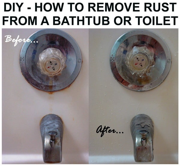 How To Remove Rust From A Bathtub