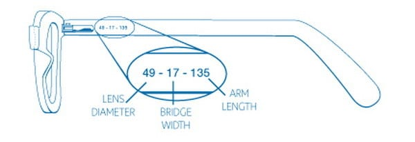 Eyeglass Measurements On Frame : How To Find Out Your Eyeglasses Frame Measurements When ...
