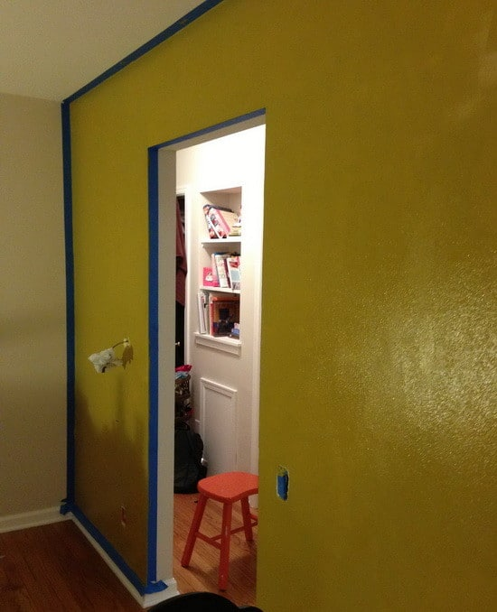 the walls for our living room are painted