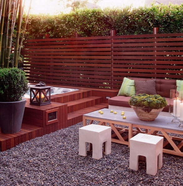 12 Great Ideas For A Modest Backyard: 61 Backyard Patio Ideas