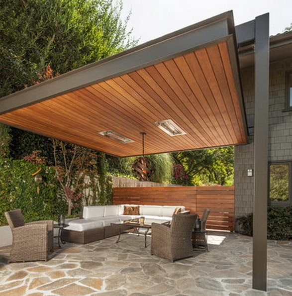 61 backyard patio ideas pictures of patios for Ideas patios exteriores