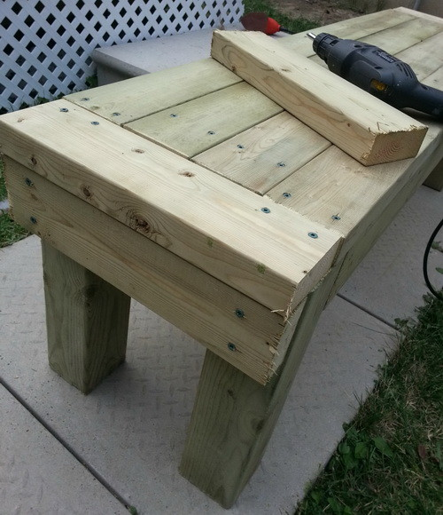 How To Build A Patio Deck Bench_06