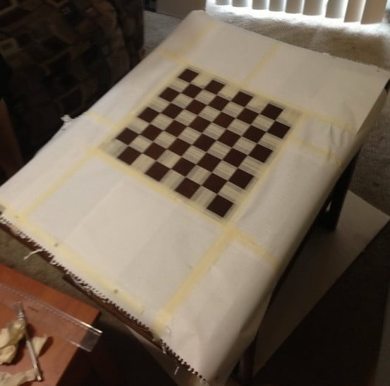 How To Make A Chess Board From An Old Table_07