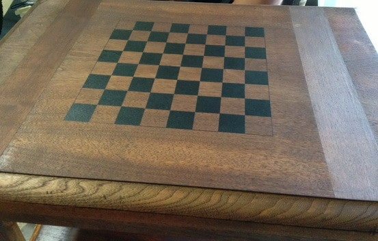 How To Make A Chess Board From An Old Table_08