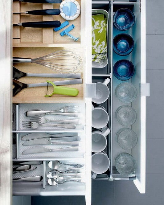 Kitchen Drawer Organization Ideas_11