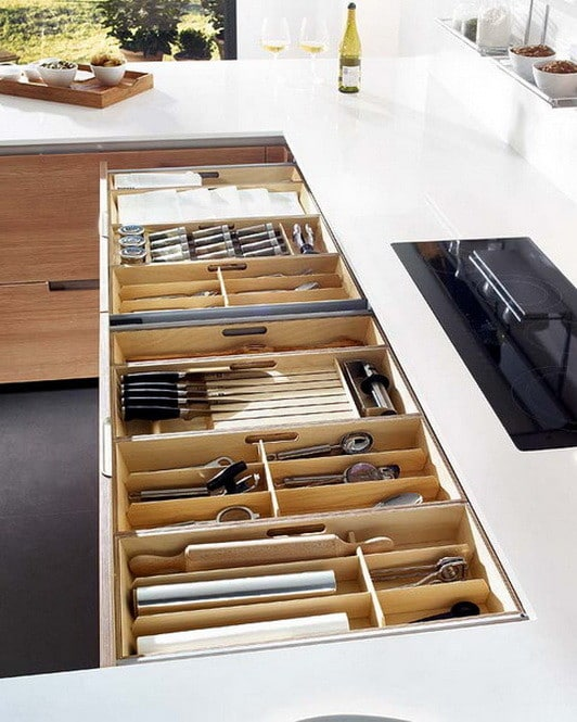 Kitchen Drawer Organization Ideas_17