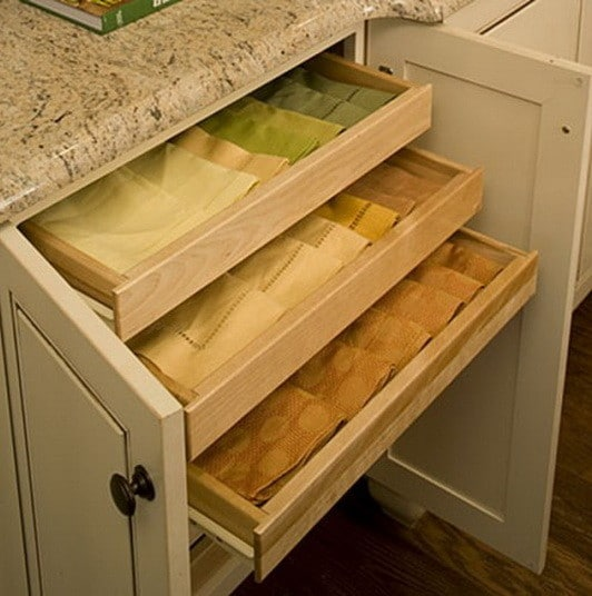 35 kitchen drawer organizing ideas diy organized living Best way to organize kitchen cabinets and drawers