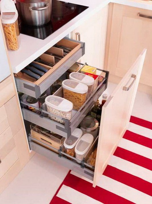Kitchen Drawer Organization Ideas_24
