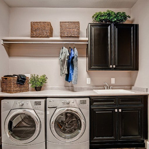 Looking For Ideas For Hanging Clothes In Laundry Room
