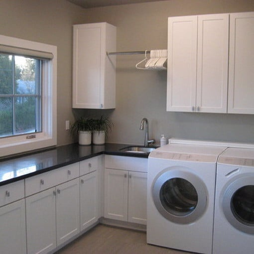 60 Beautiful Small Laundry Room Designs: Ways To Organize Your Laundry Room