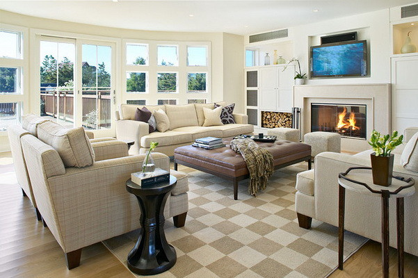 Unique Home Interior Living Space Layout Ideas_22