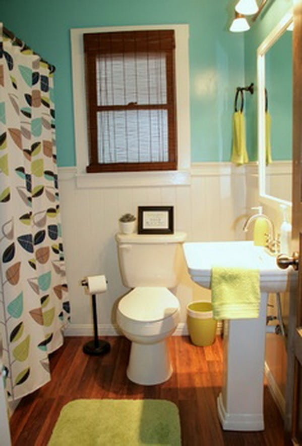 Wall paint color ideas 53 great photos to help you get 2 color bathroom paint ideas