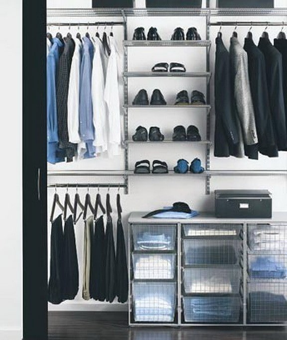 18 wardrobe closet storage ideas best ways to organize for How to make wardrobe closet