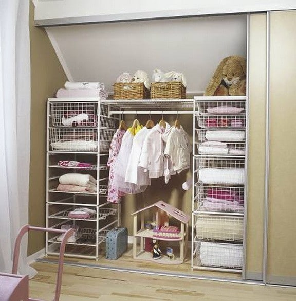 18 wardrobe closet storage ideas best ways to organize Small closet shelving ideas