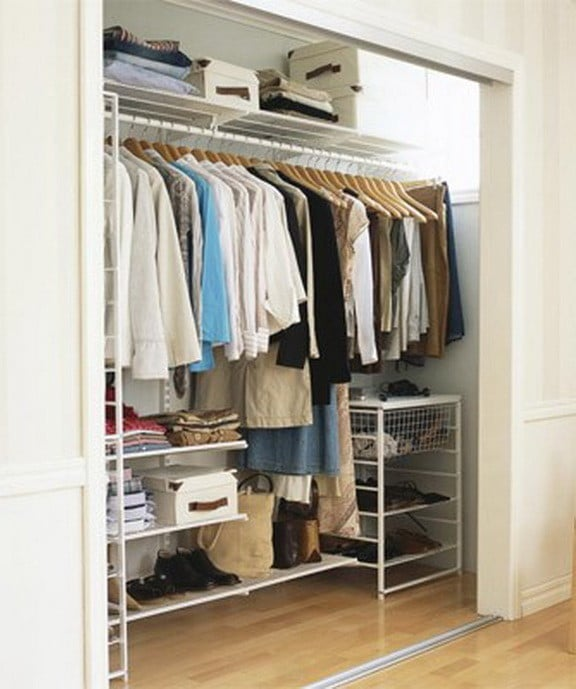 18 wardrobe closet storage ideas best ways to organize Best wardrobe storage solutions