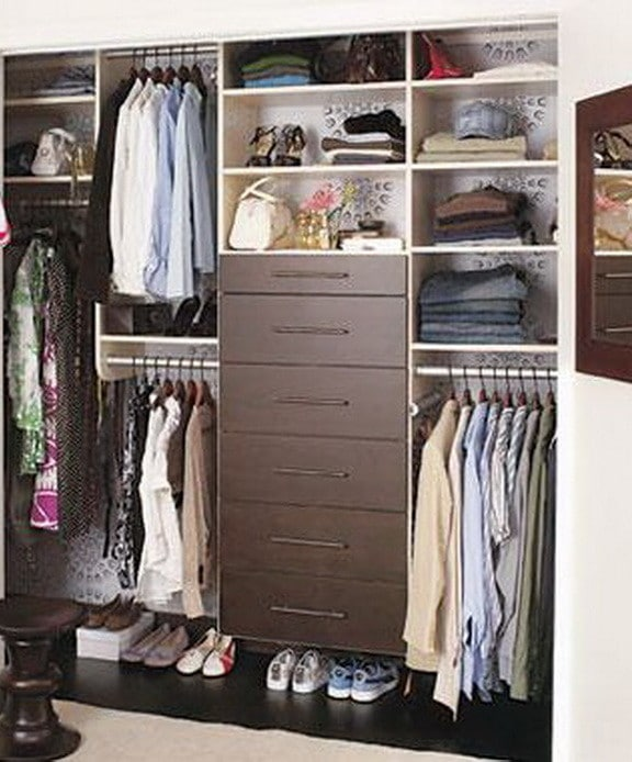 Wardrobe Closet Storage Ideas 13
