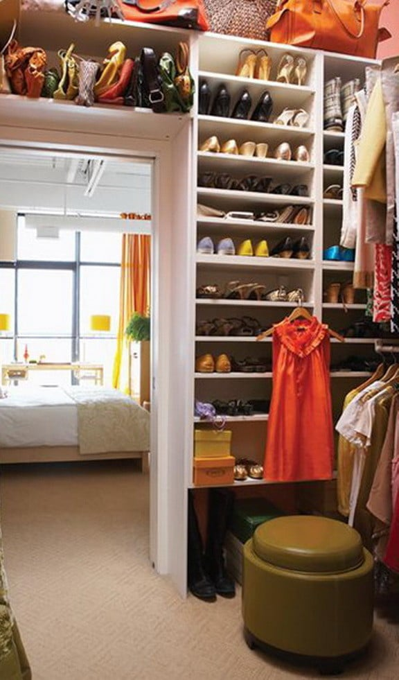 Wardrobe Closet Ideas Simple 18 Wardrobe Closet Storage Ideas  Best Ways To Organize Clothes Decorating Design