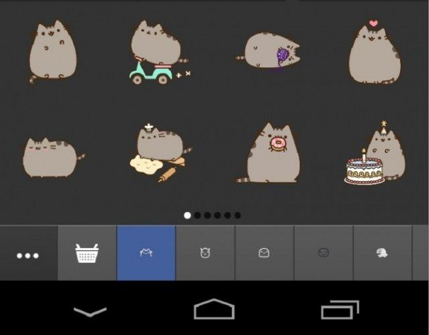 facebook cat stickers