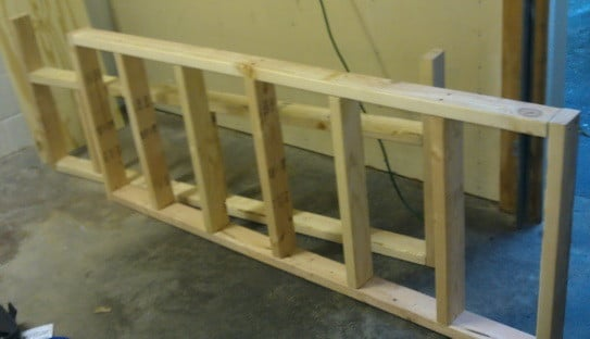 how to build a workbench in your garage