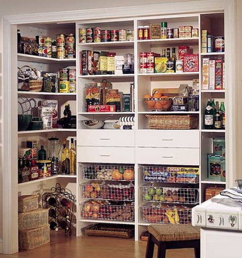 Kitchen Pantry Cabinet Organization Ideas Plate Rack Shelf: 31 Kitchen Pantry Organization Ideas