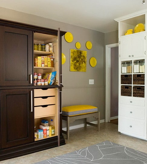 Inexpensive Kitchen Storage Ideas: 31 Kitchen Pantry Organization Ideas