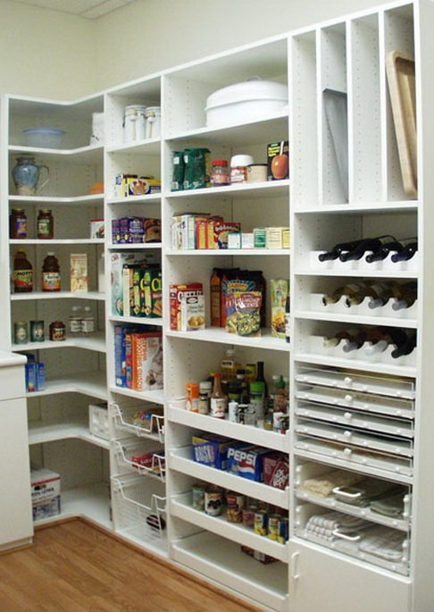 few different products to help you get your existing kitchen pantry