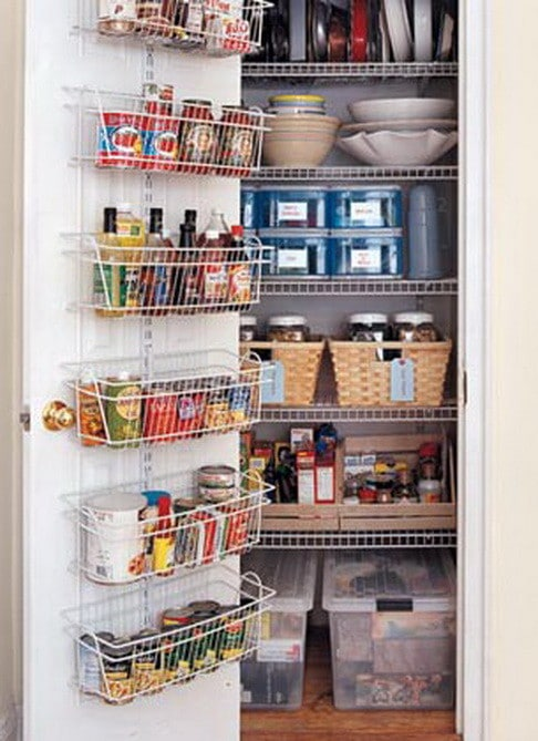 31 kitchen pantry organization ideas storage solutions for Kitchen organization ideas small spaces