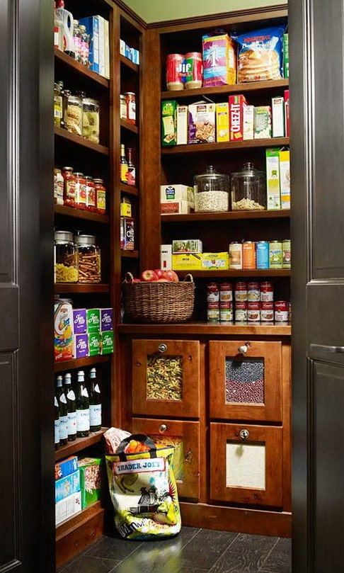kitchen pantry organization ideas_15